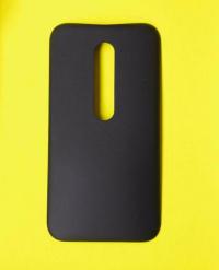 Крышка Motorola Moto G3 черная
