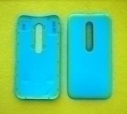 Крышка Motorola Moto G3 бирюзовая - изображение 2