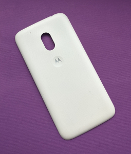 Крышка Motorola Moto G4 Play А-сток белая