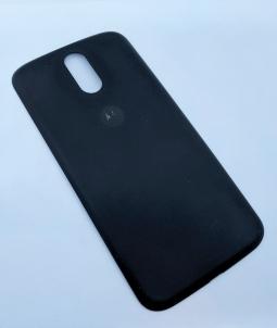 Крышка Motorola Moto G4 Plus (С-сток) чёрная