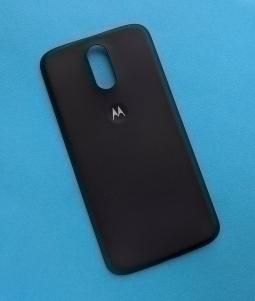 Крышка Motorola Moto G4 Plus чёрная (А сток)