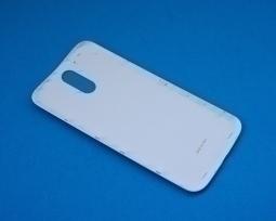 Крышка Motorola Moto G4 Plus белая - изображение 2