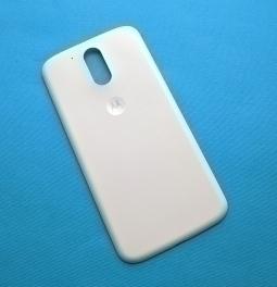 Крышка Motorola Moto G4 белая А-сток