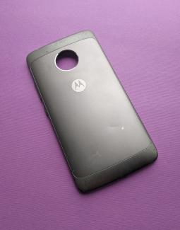 Крышка Motorola Moto G5 серая С-сток (Америанская версия)