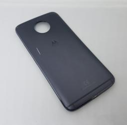 Крышка (корпус) Motorola Moto G5s Plus серая B-сток