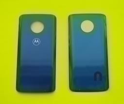 Крышка Motorola Moto G6 Plus черная (Deep Indigo)
