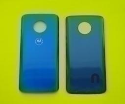 Крышка Motorola Moto G6 Plus синяя