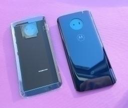 Крышка Motorola Moto G6 Deep Indigo синяя