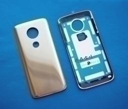 Крышка Motorola Moto G6 Play золотая