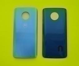 Крышка Motorola Moto G6 Plus светло голубая