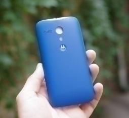 Крышка Motorola Moto G синяя