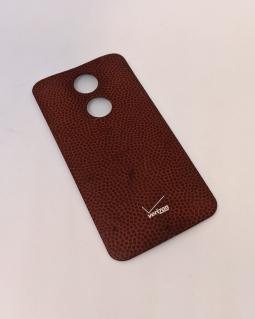 Крышка Motorola Moto X2 красная кожа А-сток