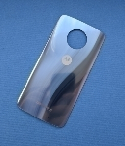Крышка Motorola Moto X4 голубая А-сток