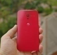 Крышка Motorola Moto Х красная  - изображение 2