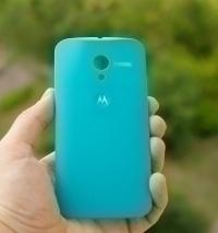 Крышка Motorola Moto Х бирюзовая - изображение 4