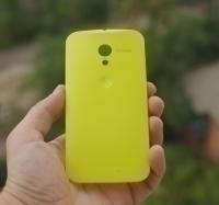 Крышка Motorola Moto Х желтая - изображение 5