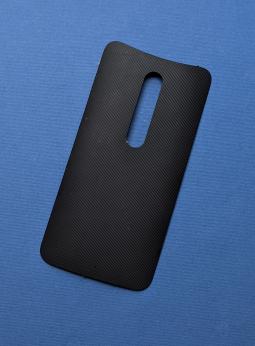 Крышка Motorola Moto X Style / Pure чёрная B-сток