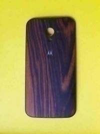 Крышка Motorola Moto X дерево (орех)