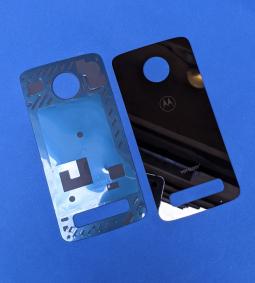 Крышка Motorola Moto Z3 Play чёрная новая
