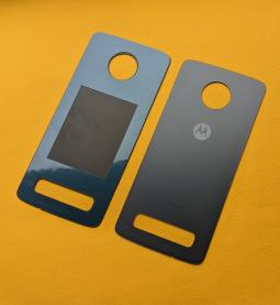 Крышка Motorola Moto Z4 Flash Grey серая