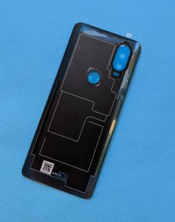 Крышка Motorola One Vision Sapphire gradient новая - фото 2