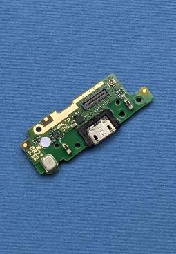 Плата нижняя Motorola Moto E6 порт зарядки