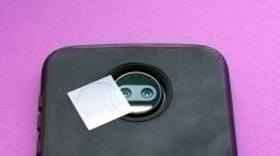 Защитная плёнка на камеру Motorola Moto Z2 Force