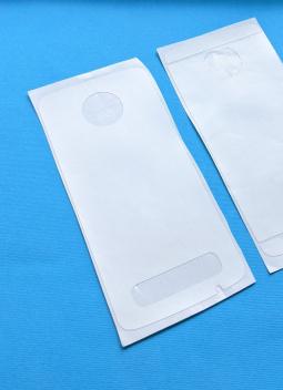 Защитная плёнка задняя Motorola Moto Z3 белая