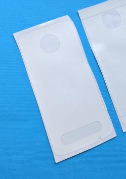 Защитная плёнка задняя Motorola Moto Z4 белая