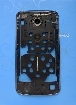 Вспышка в рамке корпуса Motorola Google Nexus 6