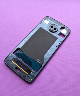 Рамка корпус Motorola Moto Z3 Play А-сток тёмно синий