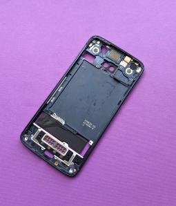 Рамка корпус Motorola Moto Z3 Play А-сток тёмно синий - фото 2