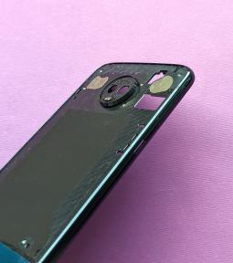 Рамка корпус Motorola Moto Z3 Play А-сток тёмно синий - фото 5