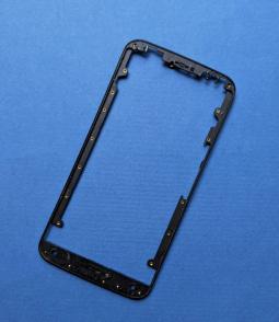 Рамка дисплея Motorola Moto X Style чёрная (А-сток)