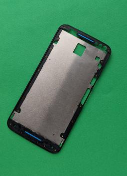 Рамка дисплея Motorola Moto X Style чёрная (B-сток) набор