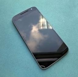 Дисплей Motorola Moto G4 чёрный в рамке (А сток)
