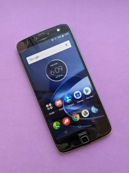 Дисплей (экран) Motorola Moto Z Force с дефектом