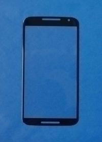 Линза (стекло) Motorola Moto X2 черная