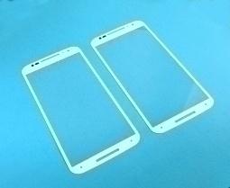 Линза (стекло) Motorola Moto X2 белая - изображение 2