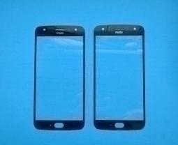 Линза (стекло) Motorola Moto X4 черная