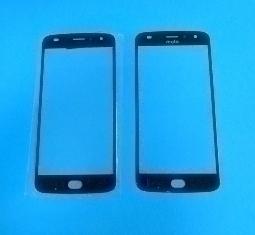 Линза (стекло) Motorola Moto Z2 Play чёрная