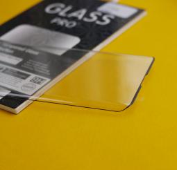 Защитное стекло Motorola Edge полное покрытие / полный клей (Pro+) - фото 2