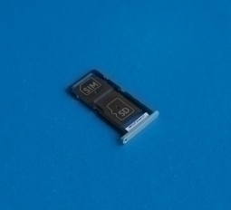 Сим лоток Motorola Droid Turbo 2 / Moto X Force серебристый