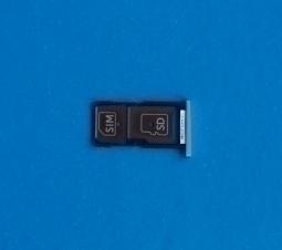 Сим лоток Motorola Droid Turbo 2 / Moto X Force серебристый - изображение 3