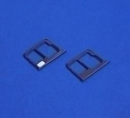 Сим лоток Motorola Moto G5 Plus чёрный - изображение 2