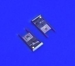 Сим лоток Motorola Moto X Style серый - изображение 4