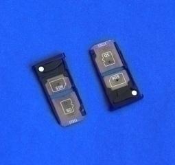 Сим лоток Motorola Moto Z2 Force чёрный - изображение 4