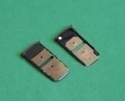 Сим лоток Motorola Moto Z Droid чёрный