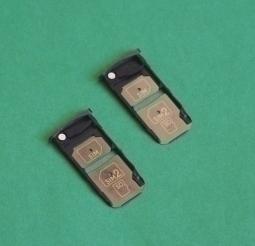 Сим лоток Motorola Moto Z Droid чёрный - изображение 4