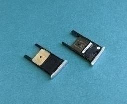 Сим трей Motorola Moto X play серебро - изображение 2